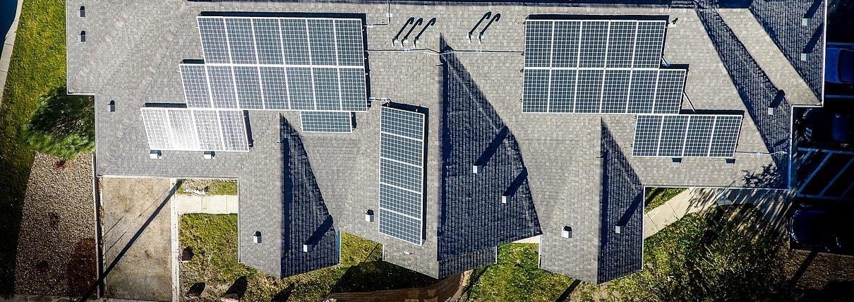 mounting solar panels on shingle roof