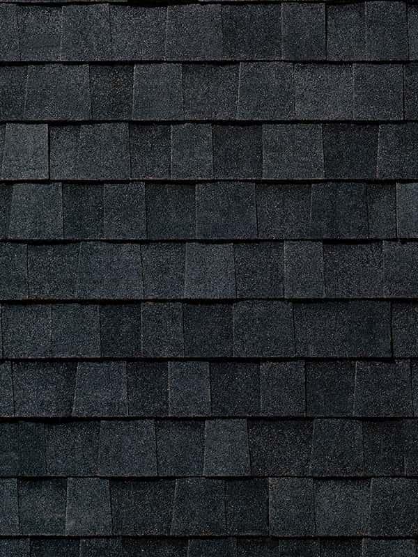 Architectural shingle Rustic Black